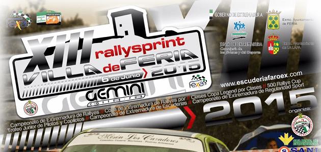 XIII RallySprint Villa de Feria