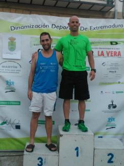 Ganadores - Circuito Popular Comarca de La Vera, disputada en la localidad cacereña de Madrigal de La Vera.