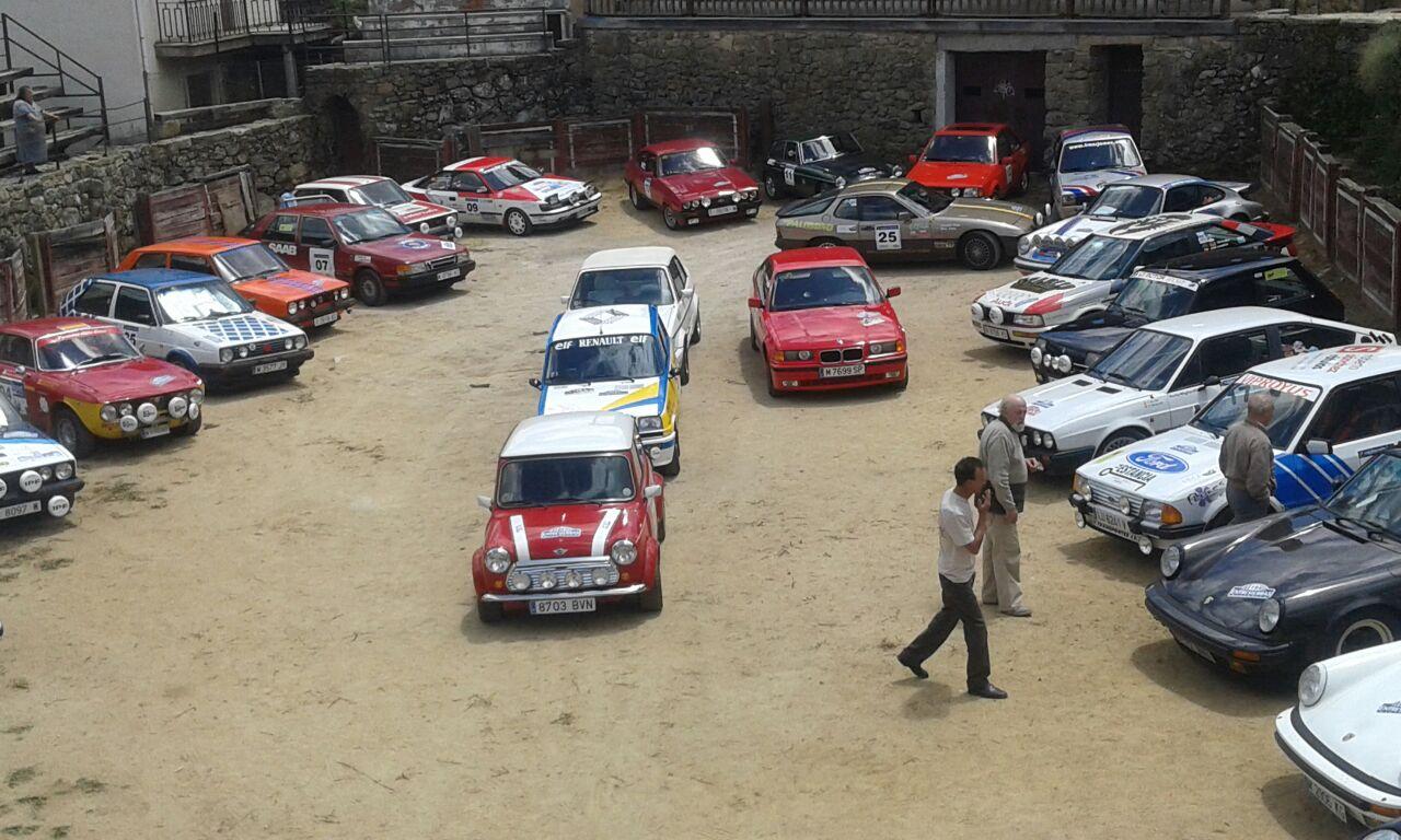 Reales y Barriga terceros en el III Rally Entresierras Histórico