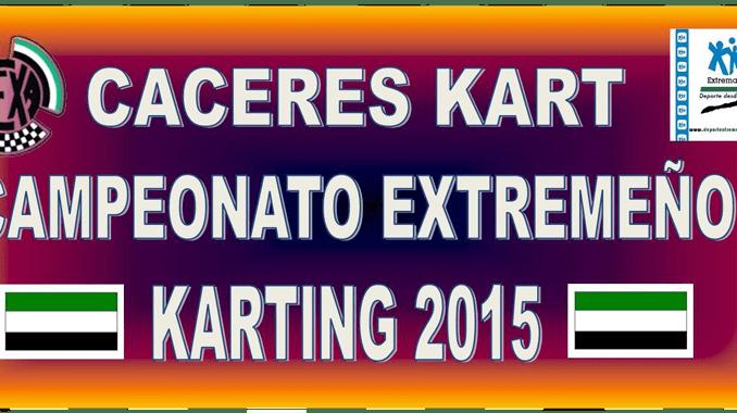 El domingo se celebra el III Cáceres Kart