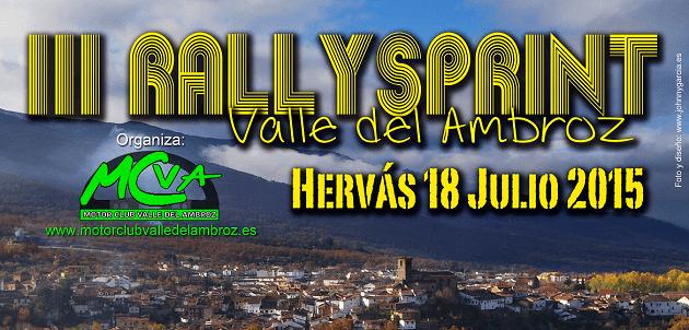 III Rallysprint Valle del Ambroz