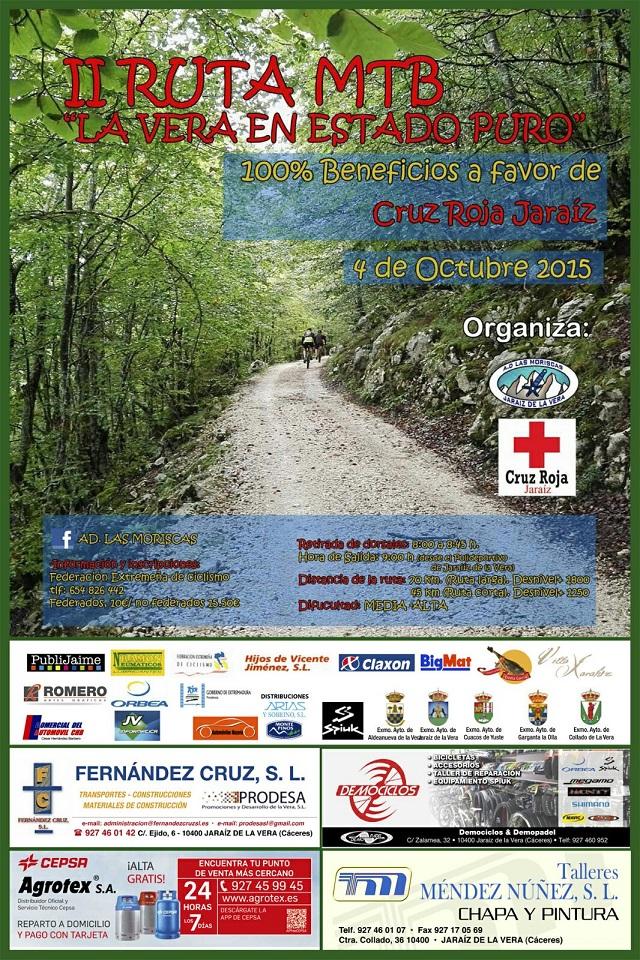 II Ruta MTB La Vera en estado Puro 2015