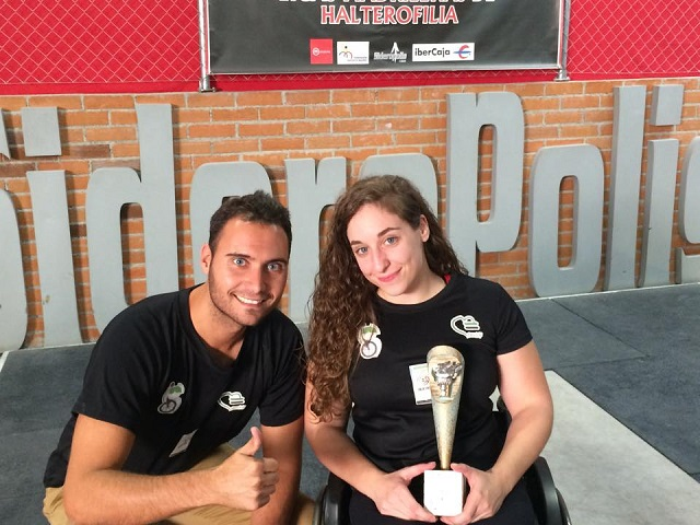 Loida Zabala Ollero campeona de la Copa de España de Halterofilia adaptada
