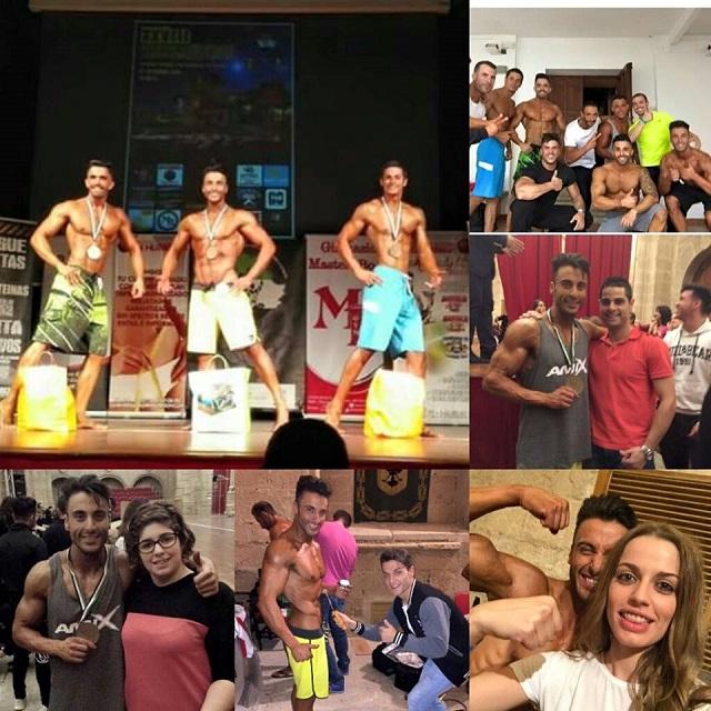 Mario Hernández campeón en talla alta del campeonato de Extremadura 2015 de la categoría de Mens Physique
