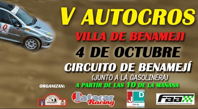 V Autocross Villa de Benamejí