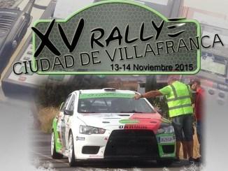 XV Rallye Ciudad de Villafranca