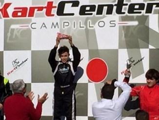 Grande en el Podio I Trofeo Maxter Series Andalucía