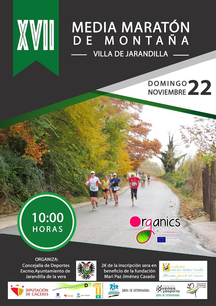 XVII Media Maratón de Montaña de Jarandilla de la Vera
