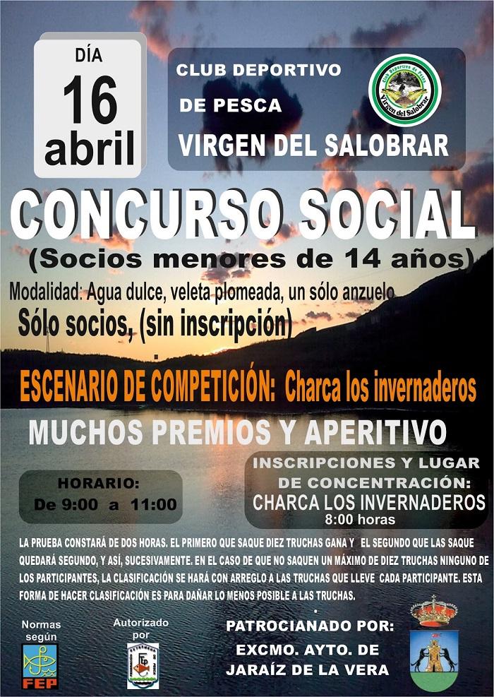 Concurso Social Club Deportivo de Pesca Virgen del Salobrar