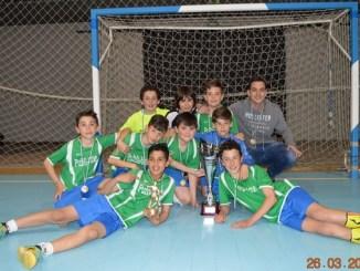 Publijaime campeón de Fútbol Sala del Interritorial de Navalmoral de la Mata