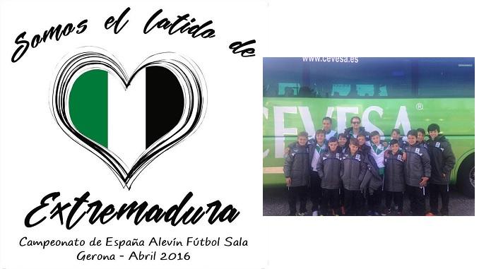 Selección Extremeña Alevín de Fútbol Sala | Campeonato de España