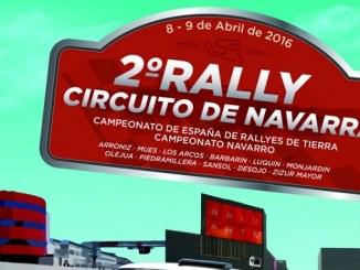 Quijada y Canelo afrontan el II Rally Circuito de Navarra