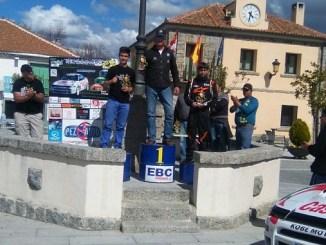 Nuevo éxito de Caballero en el I Slalom Otero de Herreros en Segovia