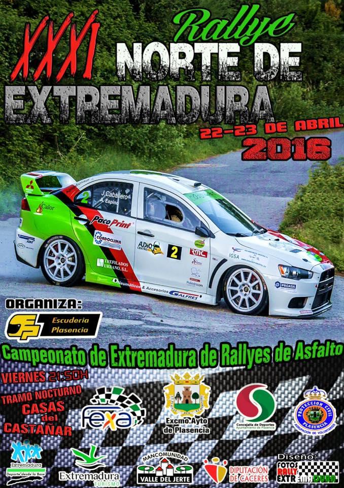 XXXI Rallye Norte de Extremadura
