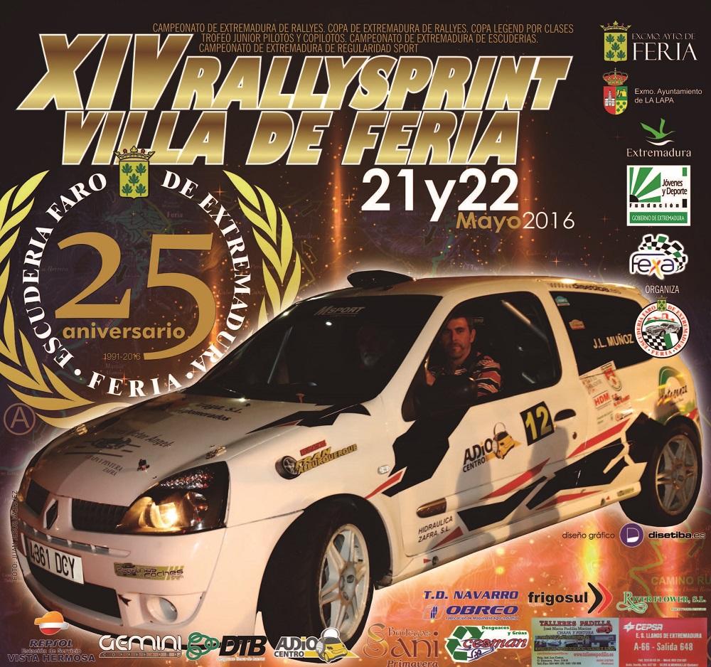 XIV Rallysprint Villa de Feria