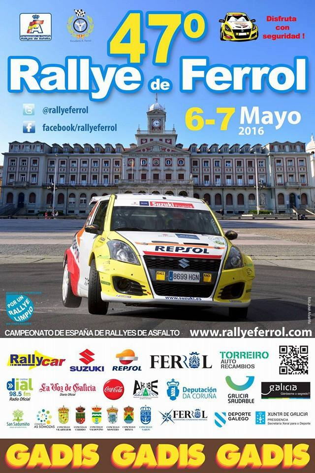 Cartel-47-Rally-de-Ferrol-2016