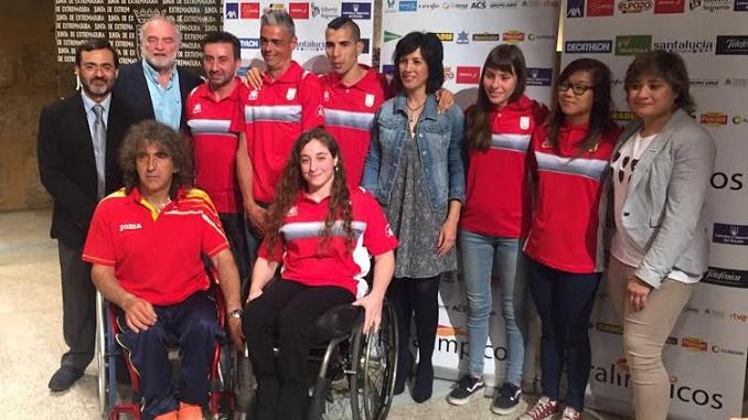 Loida Zabala - La Junta de Extremadura apoya a los Deportistas Paralímpicos