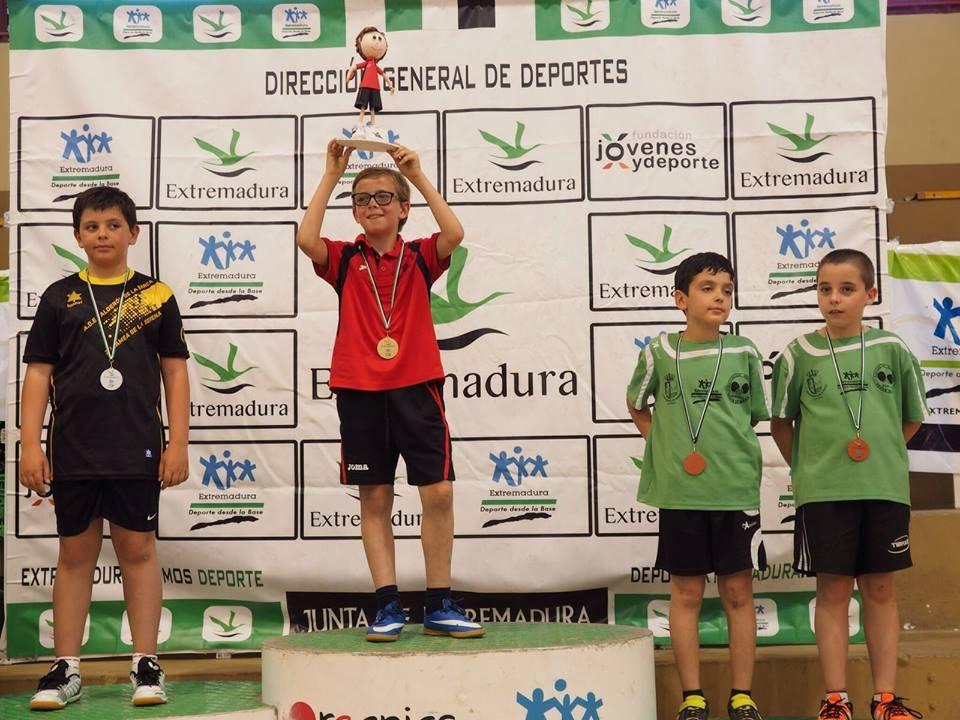 Bronce para Lucas Martín y Miguel García | Tenis de Mesa Almaraz - Judex