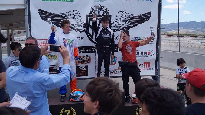 Buena actuación de Miguel Grande en la cuarta prueba del Campeonato de Andalucía de Karting