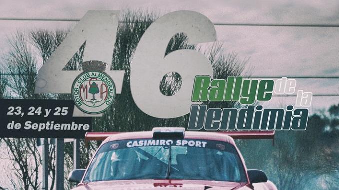 Todo preparado para el 46 Rallye de la Vendimia