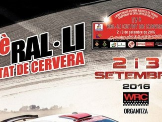 XVII Rallye de Tierra Ciudad de Cervera