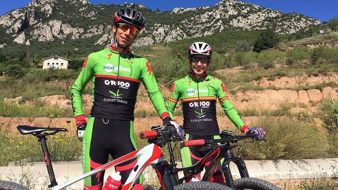 Extremadura-Ecopilas a por todas mañana en el Campeonato de España de BTT Maratón de Aviá