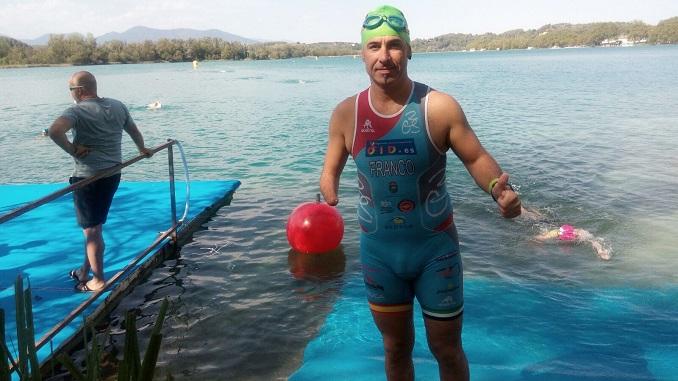 Toni Franco - Campeonato de España de Triatlón Banyoles