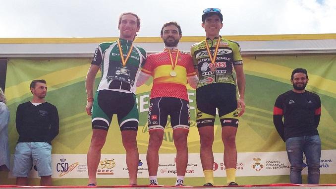 Doble podium para Extremadura-Ecopilas en el Campeonato de España XCM