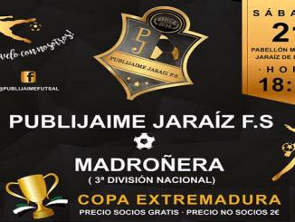 PubliJaime Futsal vs Madroñera