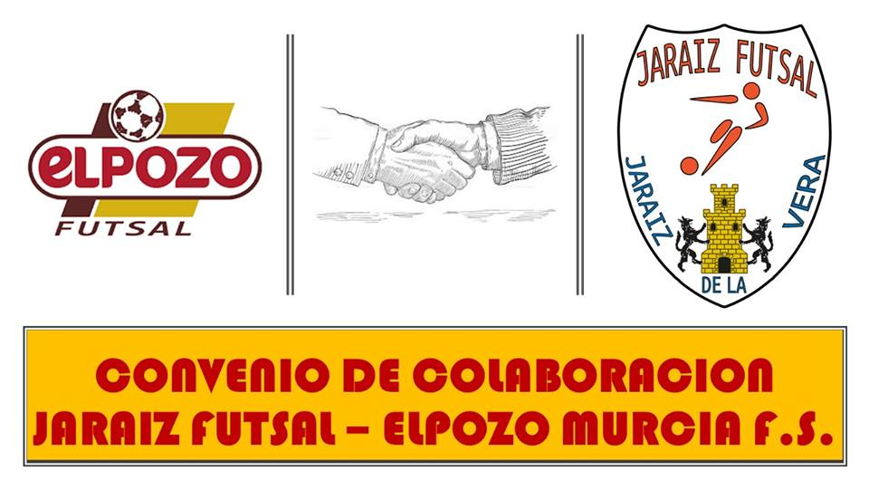 Convenio de colaboración entre El Pozo Murcia F.S. y JARAÍZ FUTSAL