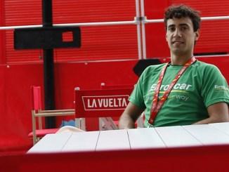 El Jaraiceño Darío Castañares en La Vuelta a España 2017