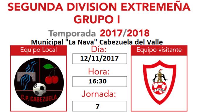Jornada 7 | Previa del CP Cabezuela vs CF Jaraíz