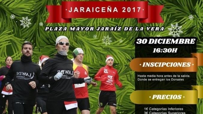 IX San Silvestre Jaraiceña sábado 30 de diciembre del 2017