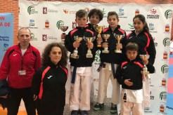 Excelentes resultados del El Club Karate Jaraíz, en el Campeonato de Extremadura celebrado en Herrera del Duque (4)