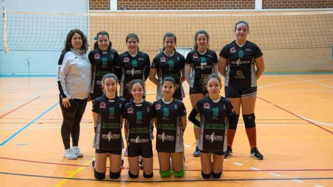Pleno de victorias de los equipos de voleibol de la ADV Jaraíz en el ultimo fin de semana
