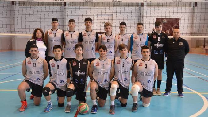 El AD Voleibol Jaraíz subcampeón de Extremadura Juvenil
