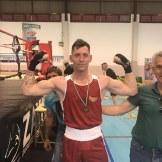 Iván González Campeón de Extremadura de Boxeo Olímpico 2019