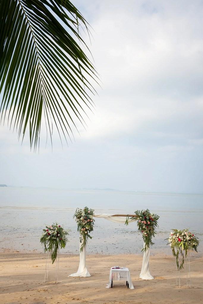 Beach Wedding Photographs - Coconut Island Resort Phuket 23