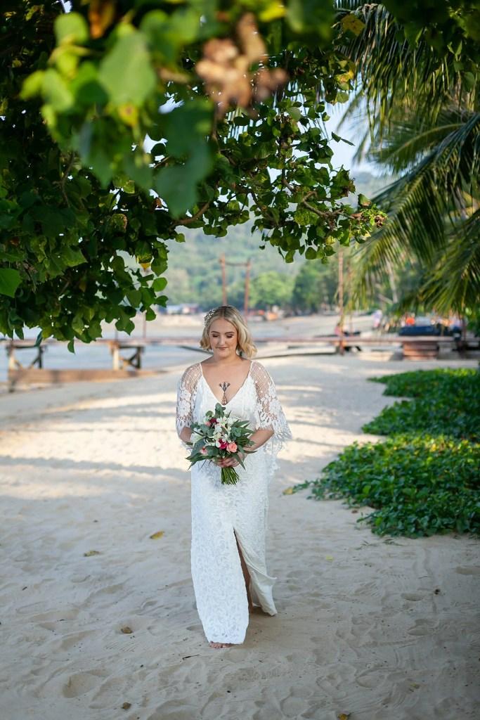 Beach Wedding Photographs - Coconut Island Resort Phuket 36