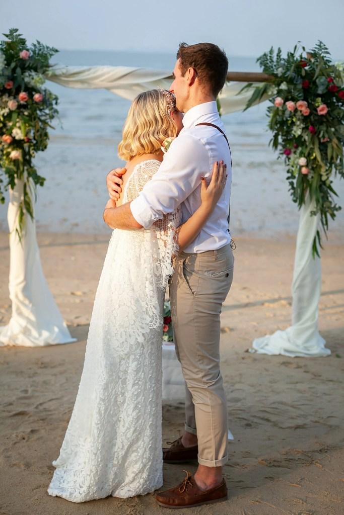 Beach Wedding Photographs - Coconut Island Resort Phuket 59
