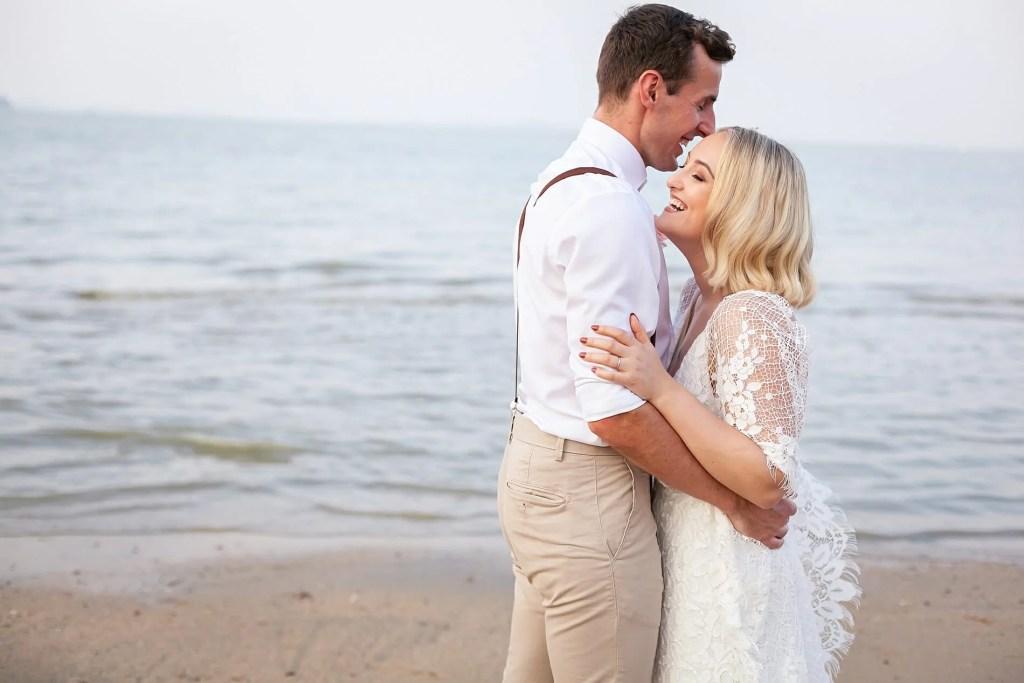 Beach Wedding Photographs - Coconut Island Resort Phuket 71