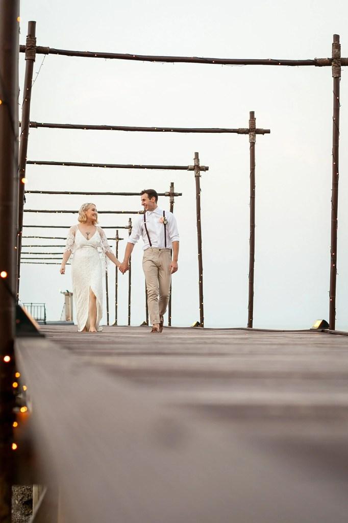 Beach Wedding Photographs - Coconut Island Resort Phuket 81