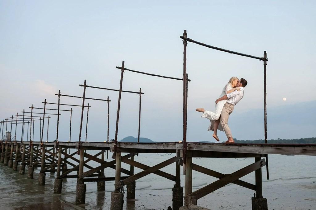 Beach Wedding Photographs - Coconut Island Resort Phuket 84