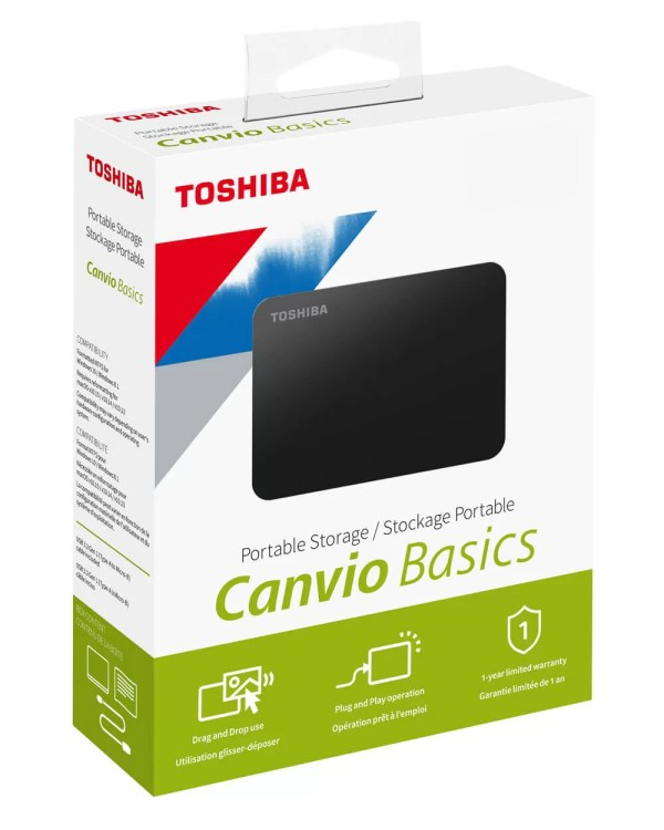HDD EXT Toshiba Canvio basic 1To