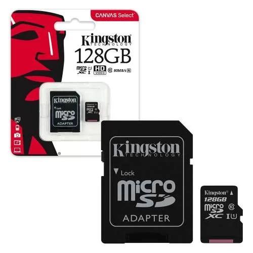 Micro SD Kingston 128gb