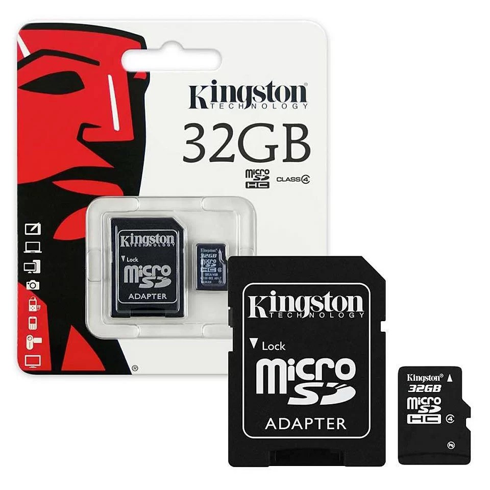 Micro SD Kingston 32gb