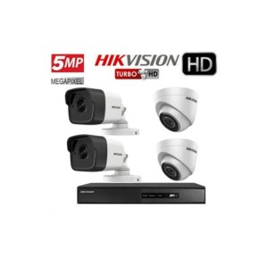 pack hikvision 5MP 4CH