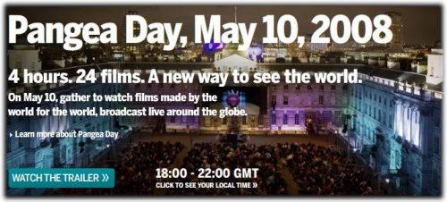 Pangea Day – ett globalt event har premiär