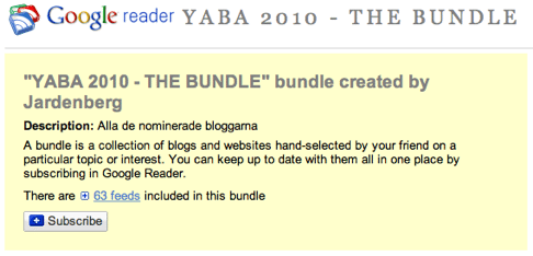 #YABA 2010 – alla nominerade i ett paket