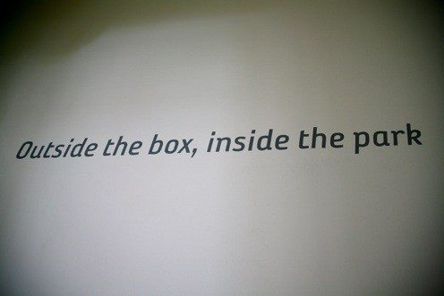 Outside the box, inside the park